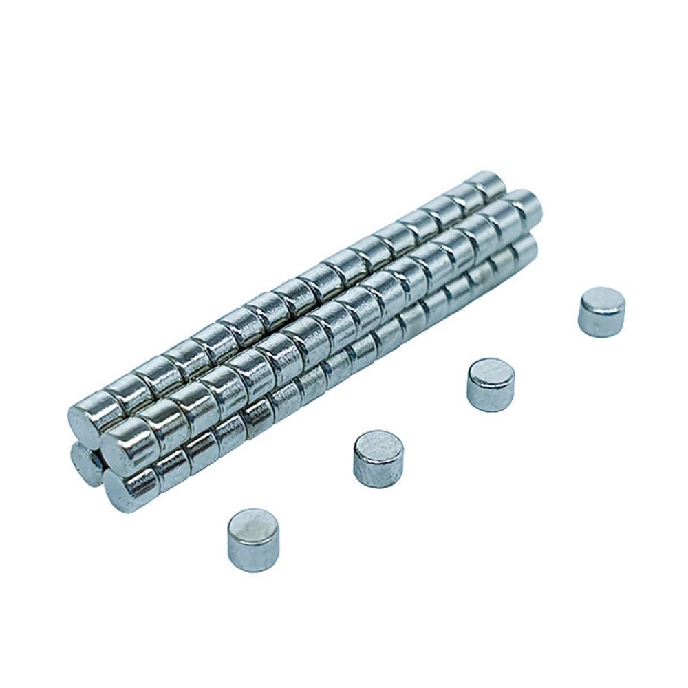 Ímã Neodímio Ø 3x1,5 mm N35