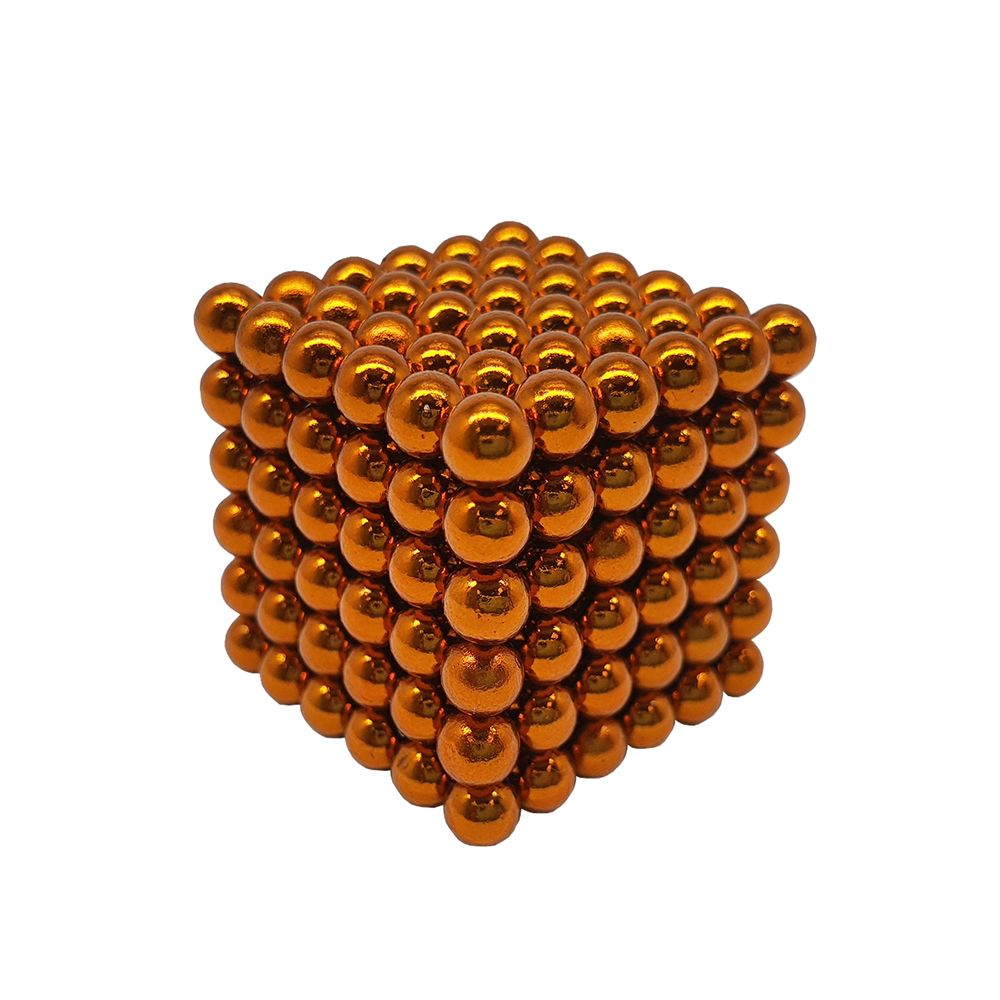 Neocube Laranja Neodímio 216 Esferas ø 5 mm