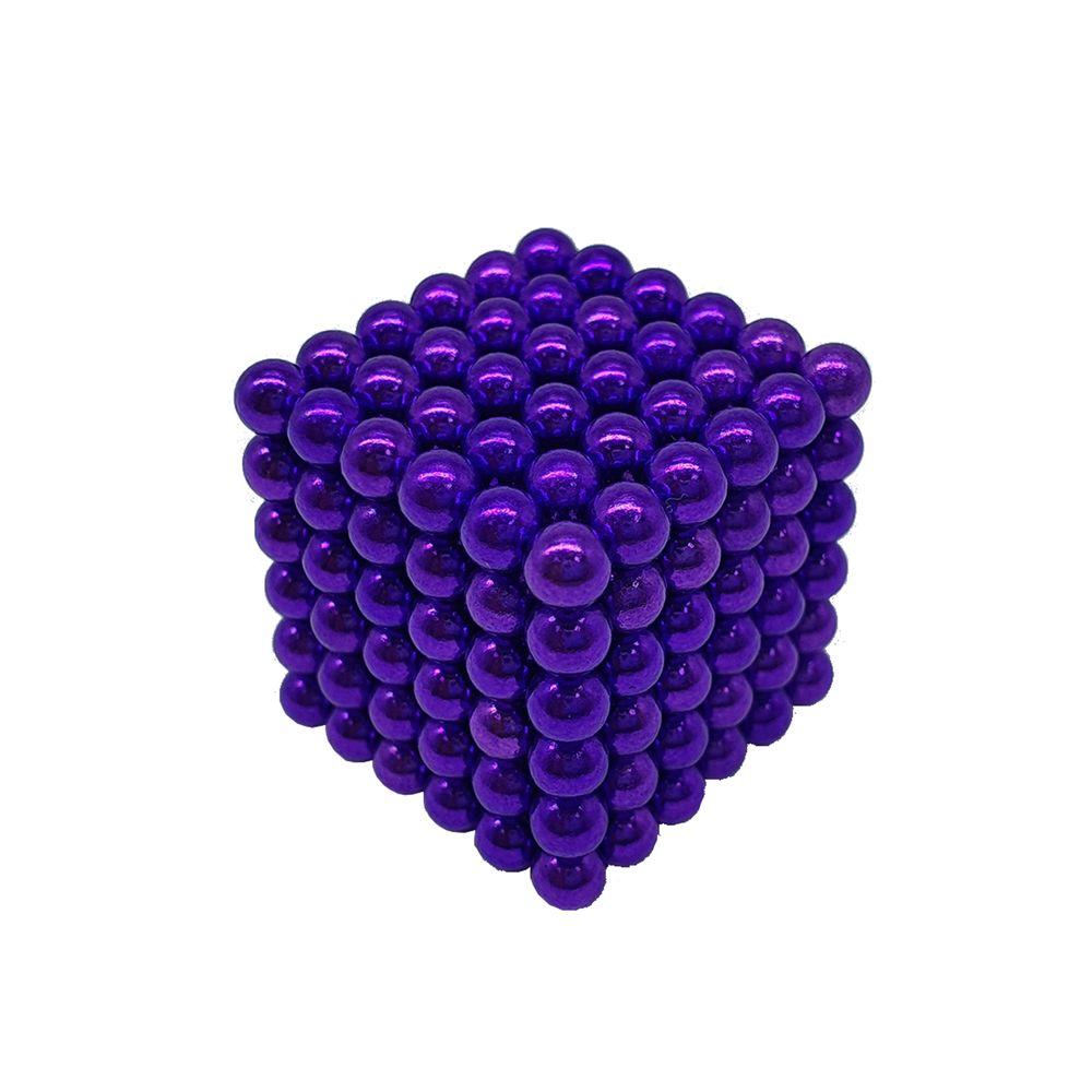 Neocube Roxo Neodímio 216 Esferas ø 5 mm