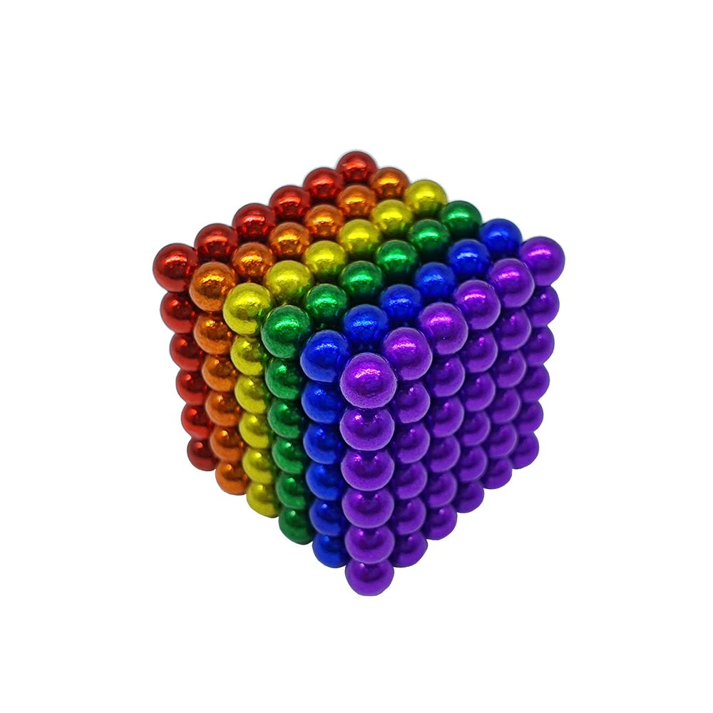 Neocube Colorido Neodímio 216 Esferas ø 5 mm