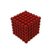 Neocube Vermelho Neodímio 216 Esferas ø 5 mm
