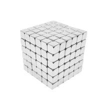 Neocube Quadrado Cromado Neodímio 216 Cubos 5 mm