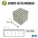 Neocube Verde Luminoso Neodímio 216 Esferas ø 5 mm