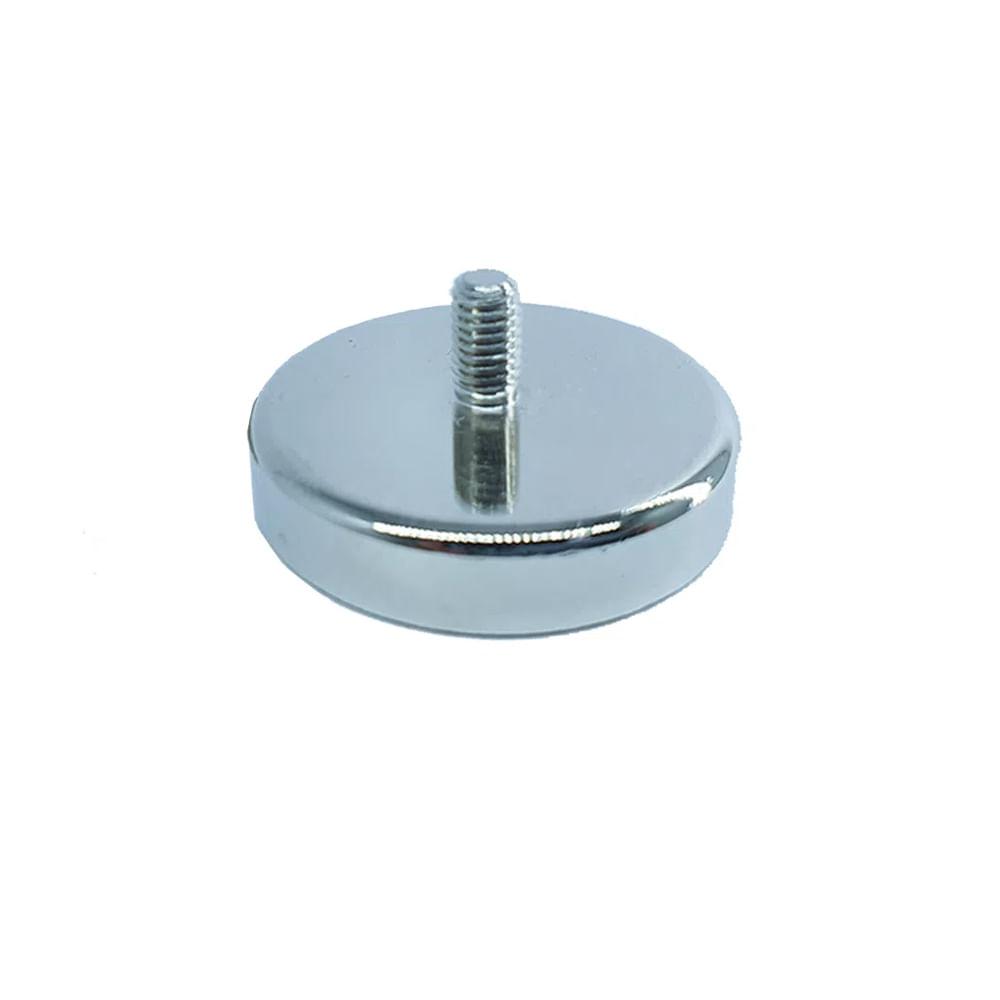 Fixador Magnético 42 mm com Rosca Externa Força Aproximada 50kg