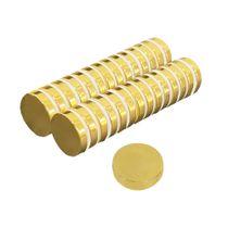 Ímã Neodímio Ø 25x5 mm N35 Dourado