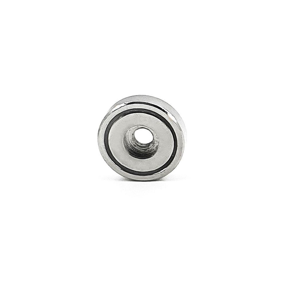 Fixador Magnético 25 mm com Furo Força Aproximada 15kg