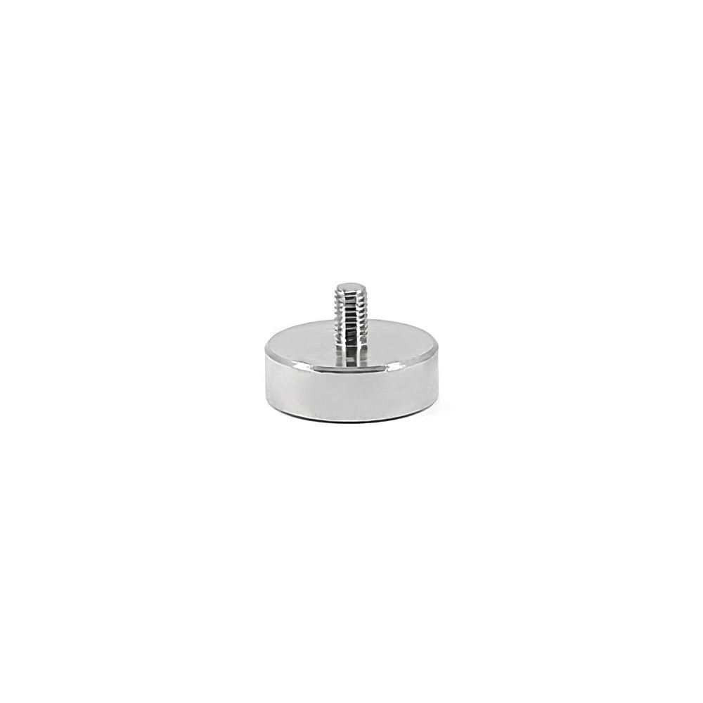 Fixador Magnético 25 mm com Rosca Externa M5 Força Aproximada 20kg