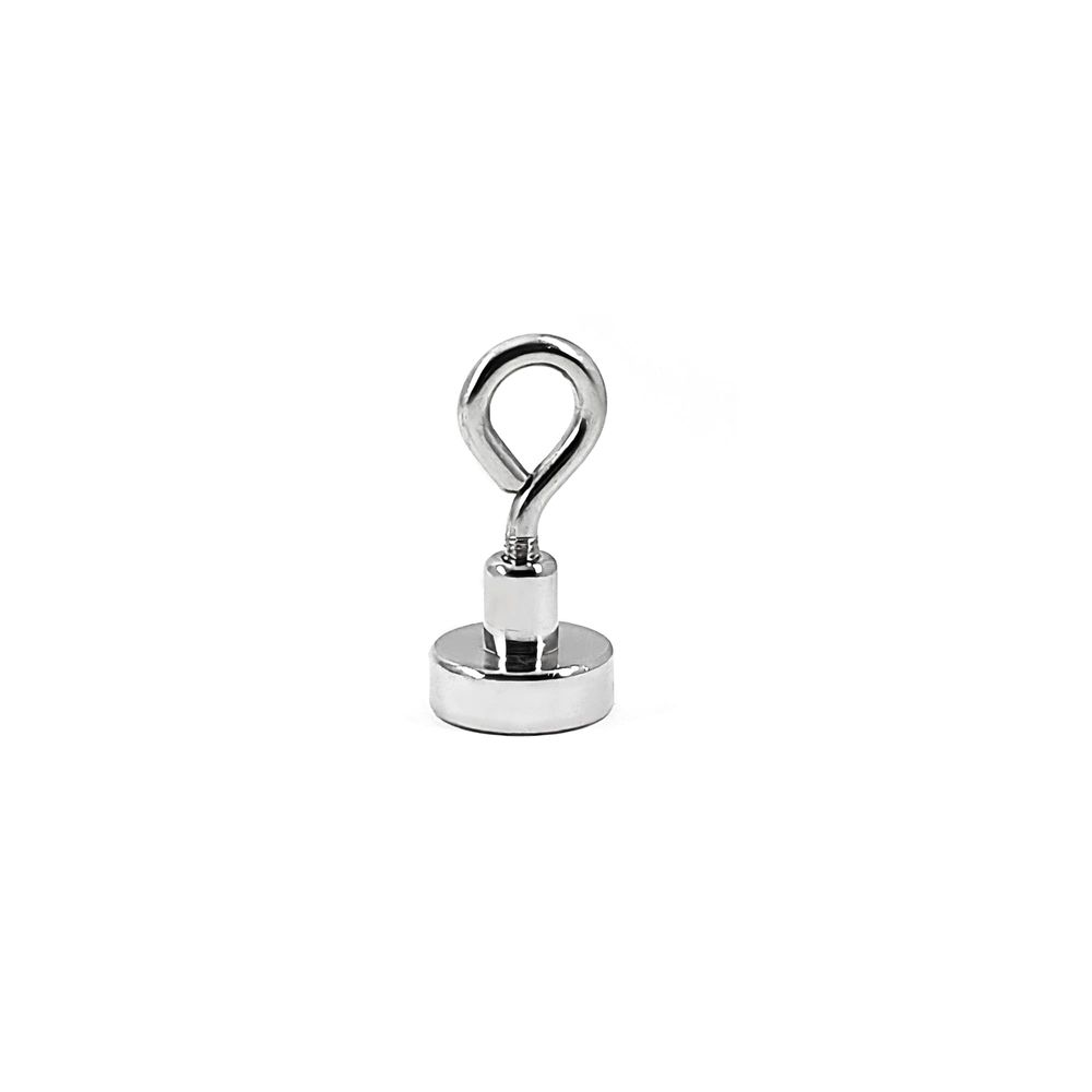 Fixador Magnético 20 mm com Olhal Força Aproximada 8kg