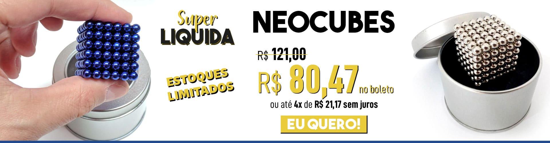 banner principal - Neocube em Oferta