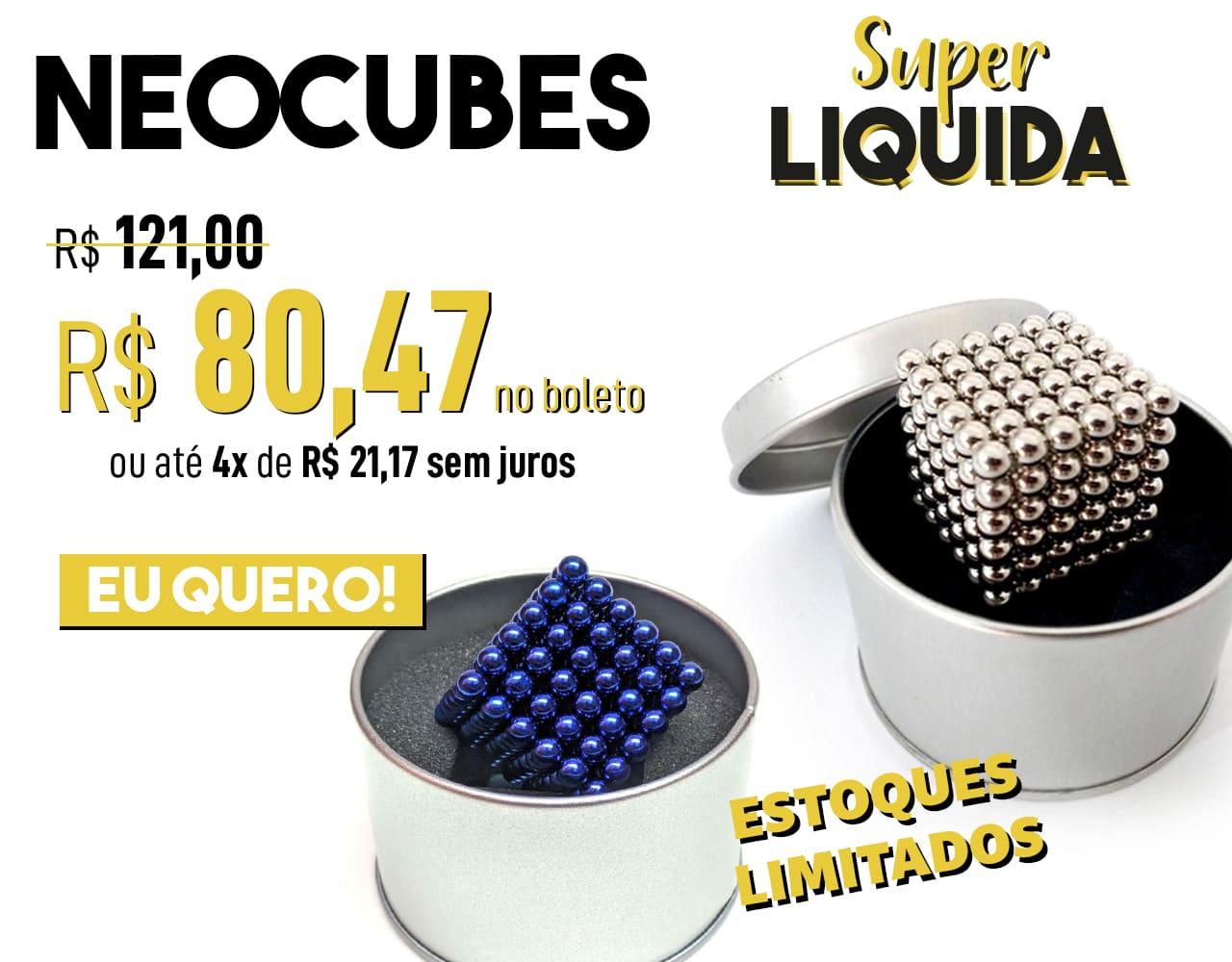 banner principal mobile - Neocube em Oferta