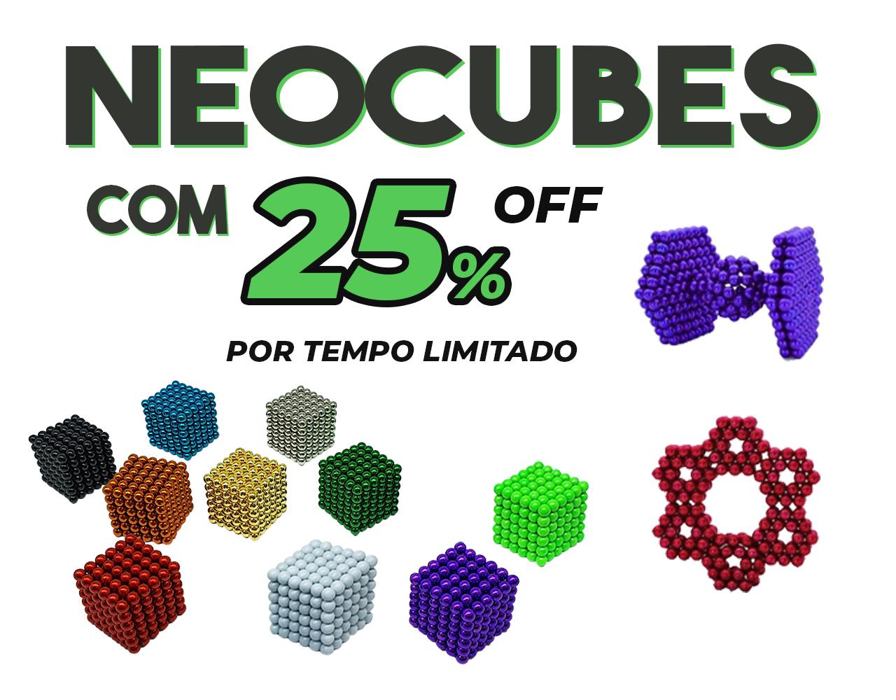 Banner principal mobile - Neocube Promo