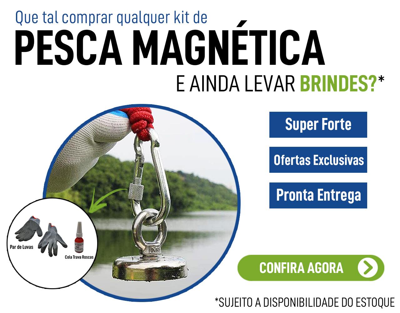 Banner Principal Mobile - Kit Pesca com Brinde